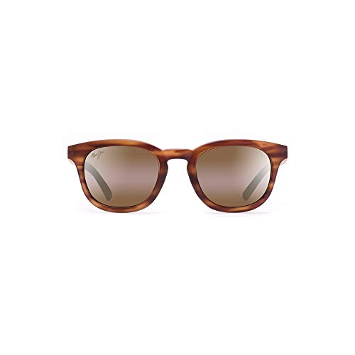 Maui Jim Koko Head H737-10M | Polarized Matte Tortoise Classic Frame Sunglasses, Patented PolarizedPlus2 Lens ()