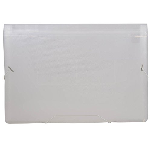 JAM Paper Accordion Folders - 13-Pocket Expanding File - Legal - 10