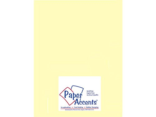 - Accent Design Paper Accents Vellum8511LightYellow VellumLightYellow