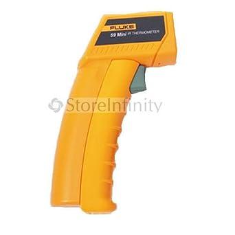 Fluke 59 Mini Laser Infrared Thermometer Gun Instant Read Thermometers Amazon Industrial Scientific