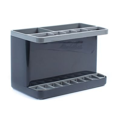 La OIT grande gris organizador para esponjas, cepillos y más (16 x 11,