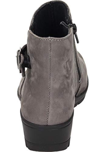 9 Damen Grau H stiefelette Comfortabel wfx8XZ1X