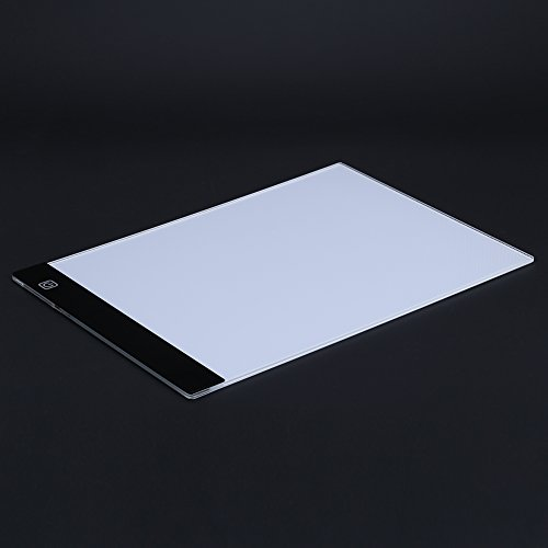 A4 LED Light Box Drawing Board - BESTGIFT Tracing Board USB Power Ultra-Thin Digital Tablet Brightness Adjustable Pad Copy Table for Artist by BESTT (Image #3)'