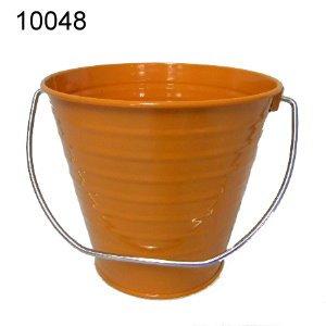 6 pack Metal Bucket, Orange Metal Bucket 5