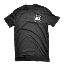 DW Drum Workshop Short Sleeve Tee, Heavy Cotton, Black with DW  Logo, XXXL
