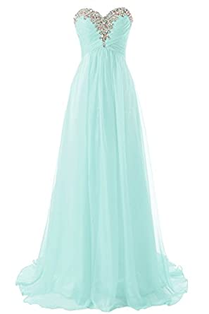 JAEDEN Sweetheart Formal Evening Dresses Strapless Long Prom Gown Bridesmaid Dress