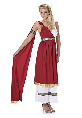 Women's Roman Empress Costume - Greek Goddess Outfit for Halloween Party, S -