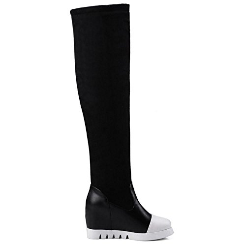 Boots Pull Women Black On COOLCEPT qAvPvxpw