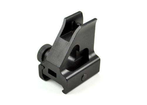 Green Blob Outdoors Low Profile Mil-Spec Front Iron Sight for High Gas Block, Hand Guard Rails