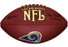 (NFL Team Logo Composite Football, Official - St. Louis Rams)