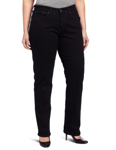 Levi's Women's Plus-Size 512 Perfectly Shaping Skinny Jean, Smooth Black, 22 Plus