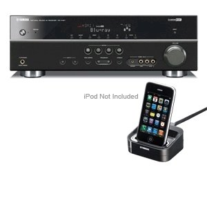 Yamaha rxv467bl home theater receiver bundle for Yamaha home theatre customer care number