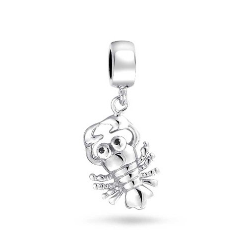 Bonyak Jewelry Sterling Silver Antiqued Clarinet Charm