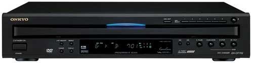 Onkyo DV-CP702 DVD Player and Changer - BLACK