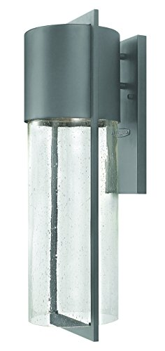 Hinkley 1325HE-GU24 Transitional One Light Wall Mount from Shelter collection in Bronze/Darkfinish,