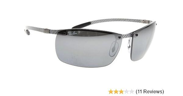 Amazon.com: Ray-Ban 8306 Carbon Fiber Polarized Sunglasses: Ray-Ban ...