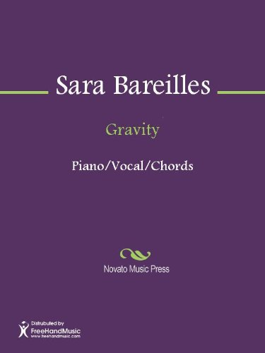 Gravity Sheet Music Kindle Edition By Sara Bareilles Arts
