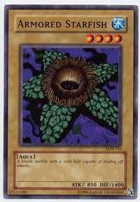 Legend Of The Starfish (Yu-Gi-Oh! - Armored Starfish (LOB-116) - Legend of Blue Eyes White Dragon - Unlimited Edition -)