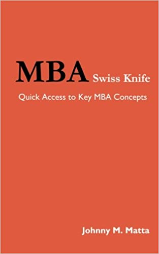 Book MBA Swiss Knife: Quick Access to Key MBA Concepts