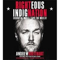 Book cover from Righteous Indignation [Audiobook, Unabridged] Publisher: Hachette Audio; Unabridged edition by Andrew Breitbart
