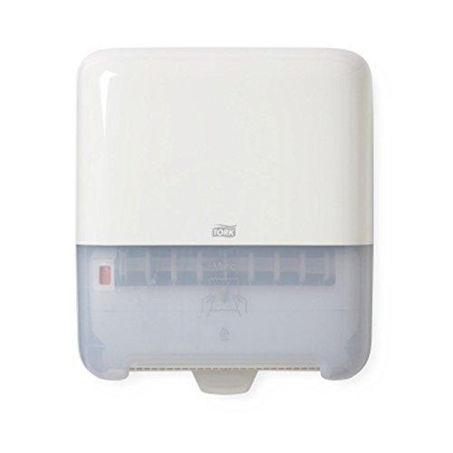 Tork 5510202 Elevation Matic Roll Towel Dispenser, White Matic Roll Towel Dispensers