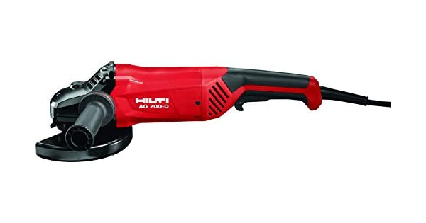 Amazon.com: HILTI 3518275 amoladora angular AG 700 – 14d ...