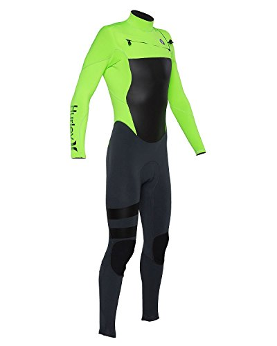 Hurley BFS0000040 Mens Fusion 302 Fullsuit, Flash Lime-10