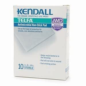 Amazon Com Kendall Telfa Amd Island Dressing 4 Quot X5 Quot Box
