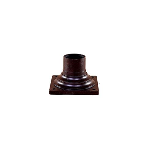 Post Mount Adapter Mounting Pier - Acclaim 5999MM Pier Mount Adapters Collection Outdoor Pier Mount, Marbleized Mahogany