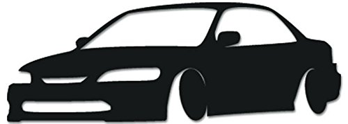 Amazoncom JDM Honda Accord Vinyl Decal Sticker For Vehicle Car - Honda accord decals stickers
