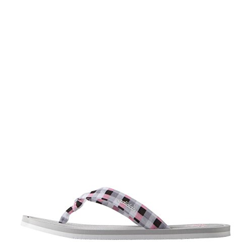 adidas Litha Tex W, Chanclas para Mujer Blanco / Rosa / Azul (Grpulg / Ftwbla / Briros)