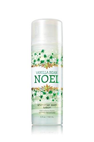 Bath and Body Works Vanilla Bean Noel Shimmer Swirl Lotion 5oz 150ml Holiday 2014