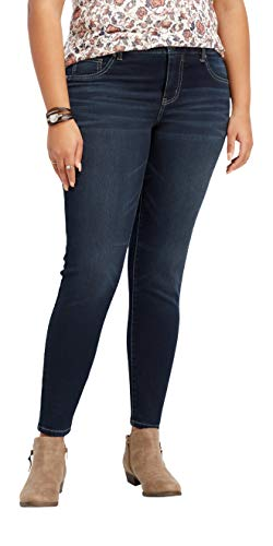 maurices Women's Dark Wash Jegging - Plus Size Super Soft Denimflex Mid Rise from maurices