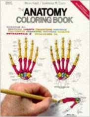 the anatomy coloring book second edition - The Anatomy Coloring Book