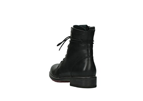 Lining Wolky Boots 20000 Lace Winter up Warm Cold CW Comfort black leather Murray qqrA6O7w
