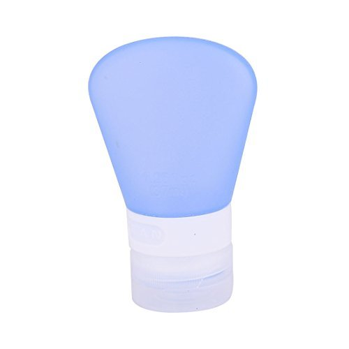 Amazon.com: DealMux Silicone externas Viagem Shampoo Condicionador Líquidos cosméticos creme Garrafas Azul: Home & Kitchen