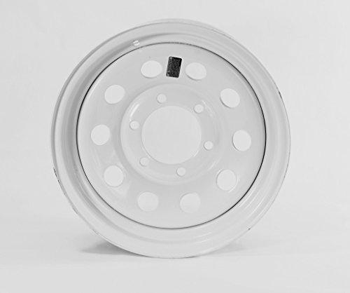 eCustomRim Rim 15X6 6-5.5 White Modular E-C 2830# 4.27CB