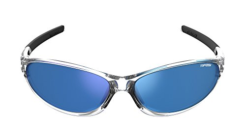 Tifosi Alpe 2.0 Wrap Sunglasses, Crystal Clear, 128 - Sport Rx Sunglasses