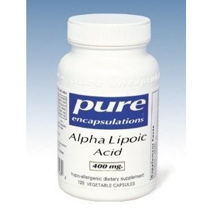 Pure Encapsulations - Alpha Lipoic Acid (400mg) - 60ct