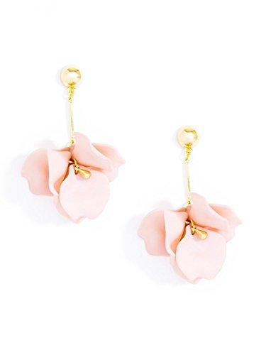 ZENZII Pastel Petals Earring (Rose)