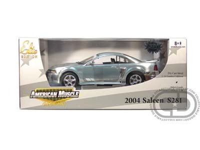 2004 Saleen Ford Mustang S281 1/18 L/E Diecast (Chrome Chase Car)
