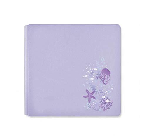Creative Memories Rare NLA 12x12 True Size Pale Purple Mermaid Cove Ocean Vacation Album Cover
