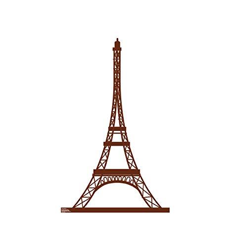 Advanced Graphics Paris Eiffel Tower Life Size Cardboard
