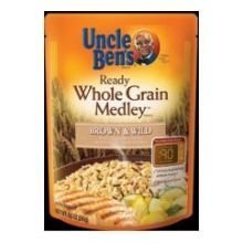(Uncle Bens Ready Whole Grain Medley Brown and Wild Rice, 8.5 Ounce -- 12 per case. by Uncle Ben's)