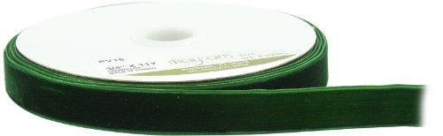 Green Velvet Ribbon - 9