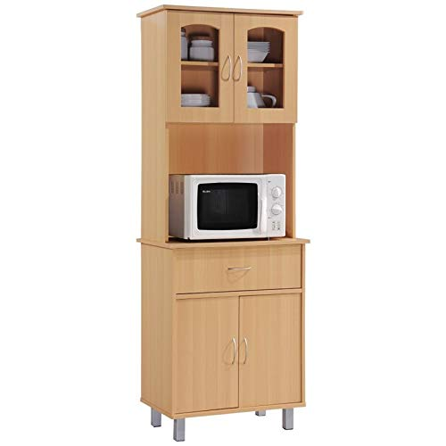 Pemberly Row Kitchen Cabinet in Beech by Pemberly Row