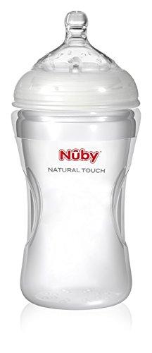 Biberon en silicone sans bisphenol A Nuby 300 ML +3 mois Nûby NT67018