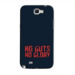 Cover It Up - No Guts, No Glory Galaxy Note 2 N7100 Hard Case