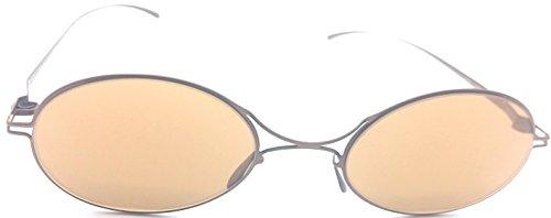 Mykita + Maison Martin Margiela MMESSE001 bronze mirrored - Glasses Martin Maison Margiela