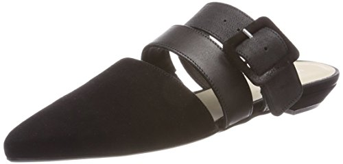 Marc Opolo Damen Loafer 80114423701302 Slipper Schwarz (nero)